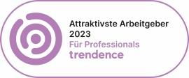 Siegel trendence Graduate Barometer TOP 100 Arbeitgeber Deutschland